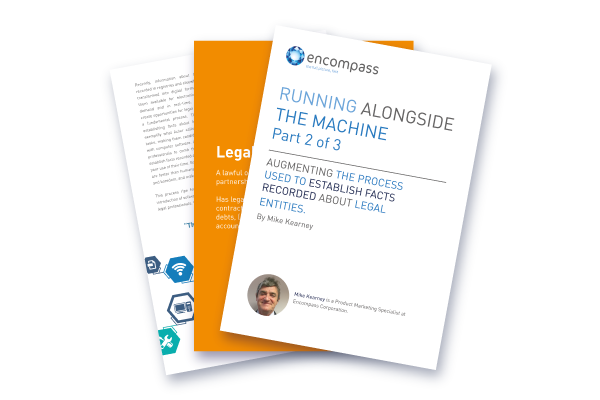 Running Alongside the Machine Pt 2 | Encompass Whitepapers