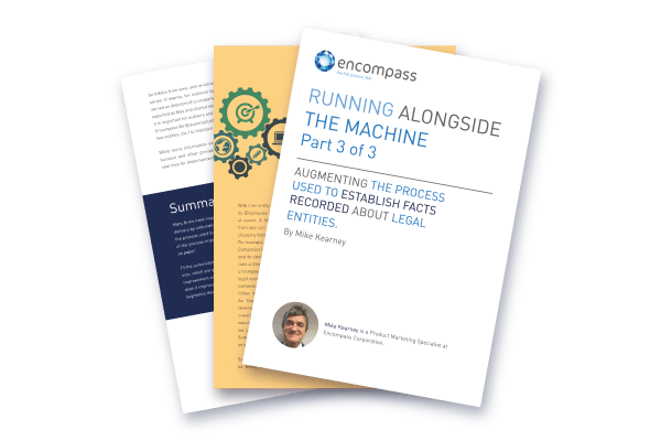 Running Alongside the Machine Pt3 | Encompass Whitepapers
