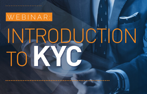 Webinar: Introduction to KYC for Professional Service Firms | Encompass Webinars