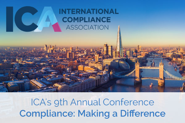 ICA's 9th Annual Conference - Compliance: Making a Difference | Encompass Events