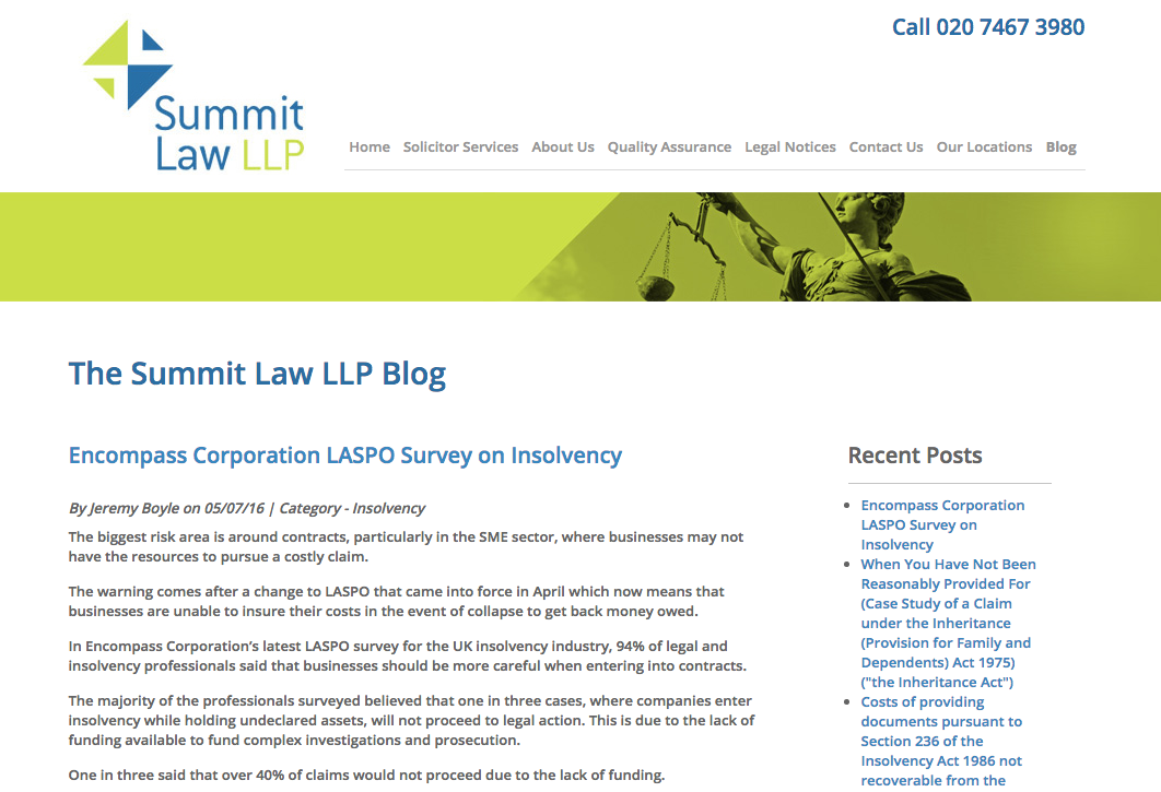 Summit Law article