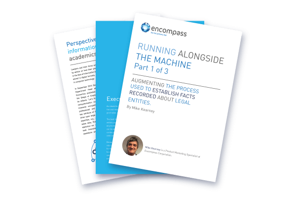 Running Alongside the Machine Pt 3 | Encompass Legal Whitepaper