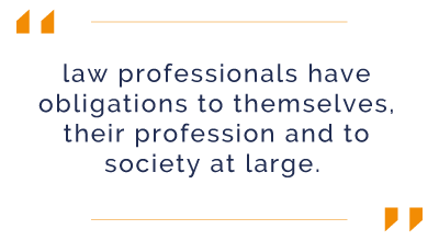 Law Firms have an obligation to themselves and society at large | encompass blog