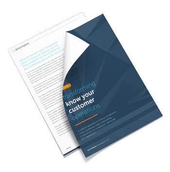 Whitepaper: Transforming Know Your Customer Operations | Encompass Whitepaper