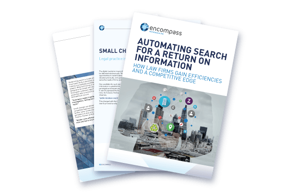 Automating Search for a Return on Information | Encompass Whitepaper