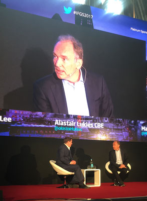 Sir Tim Berners-Lee | Innovate Finance Global Summit | Encompass Blog