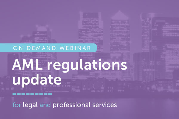 AML regulations update for legal & accountancy | encompass on demand webinar
