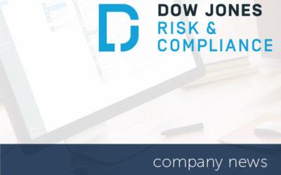[company news] encompass integrates with Dow Jones Risk & Compliance
