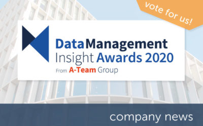 Encompass shortlisted in Data Management Insight Awards 2020