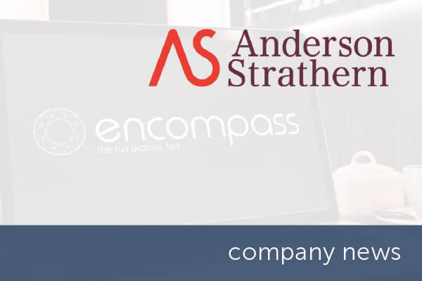 Anderson Strathern selects encompass verify