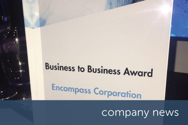encompass victorious at Herald Scottish Digital Business Awards