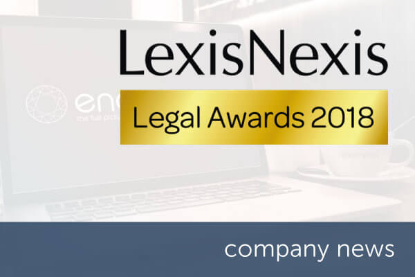 encompass nominated for Legal Supplier Innovation Award at LexisNexis Legal Awards 2018 | encompass company news