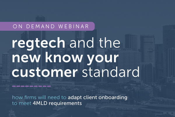 RegTech and the new KYC standard | encompass on demand webinar