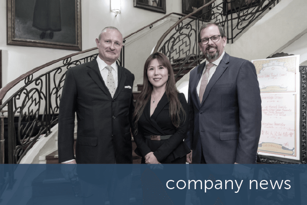 encompass celebrates Hong Kong launch with executive dinner