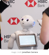 Pepper the Robot, HSBC | the full picture, this week - 29 June 2018 | encompass blog