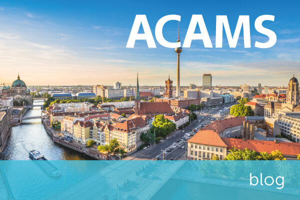 Key learns from the ACAMS AML & Financial Crime Conference Europe