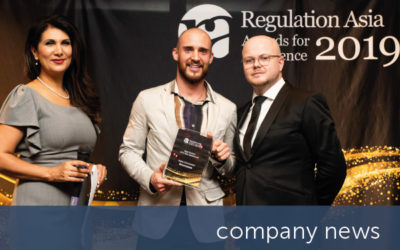 Encompass highly commended at Regulation Asia Awards 2019