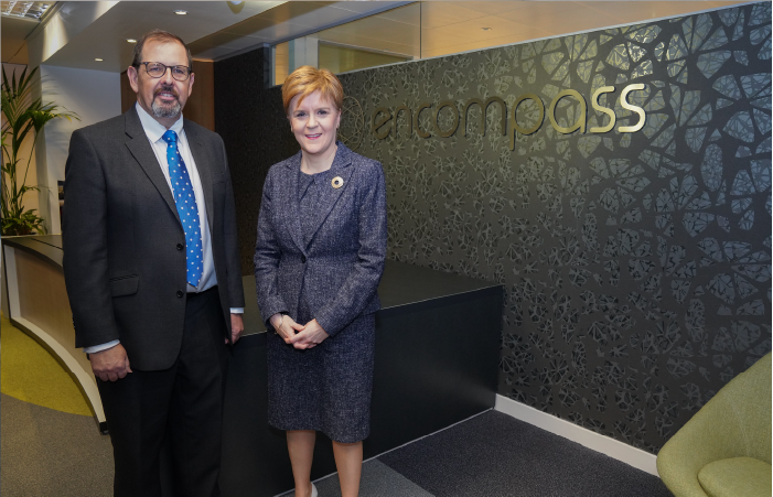 Encompass receives £1.97m grant to develop AI tool  for the financial services sector | Encompass company news