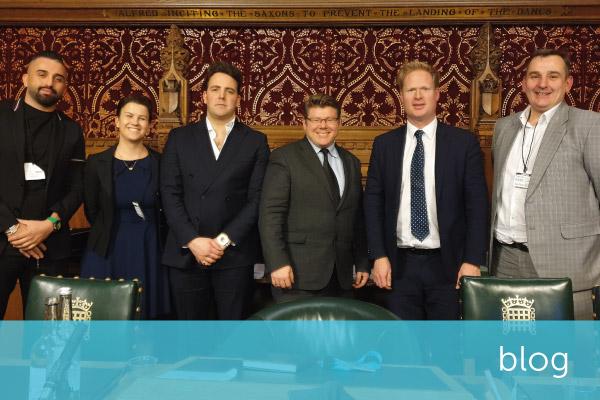 Encompass' Robyn Todd addresses Parliamentary Fintech Summit