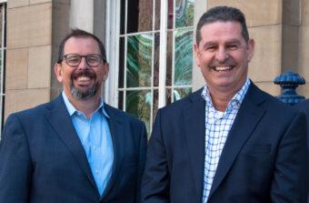 Wayne Johnson and Roger Carson | Encompass executive